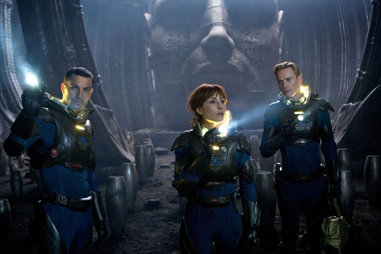 Logan Marshall-Green, Noomi Rapace, Michael Fassbender, Prometheus