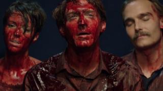 Fran Kranz, Joey Kern and Emma Fitzpatrick duel vampires in Bloodsucking Bastards