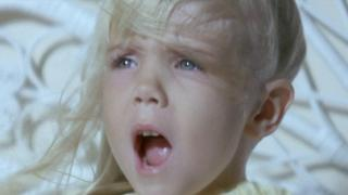 Carol Anne faces her fear in Poltergeist