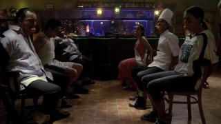 """Scene from the film """"Gravy"""""""