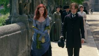 Johnny Depp and Heather Graham in From Hell