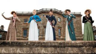 Some of the stars of Pride and Prejudice and Zombies