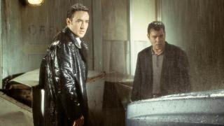 John Cusak and Ray Liotta in Identity