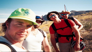 The four ill-fated campers from The Phoenix Tapes '97